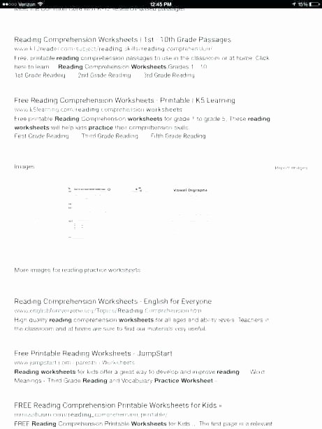 5th Grade Worksheets Printable Reading 10th Grade Reading Prehension Worksheets Grade Vocabulary