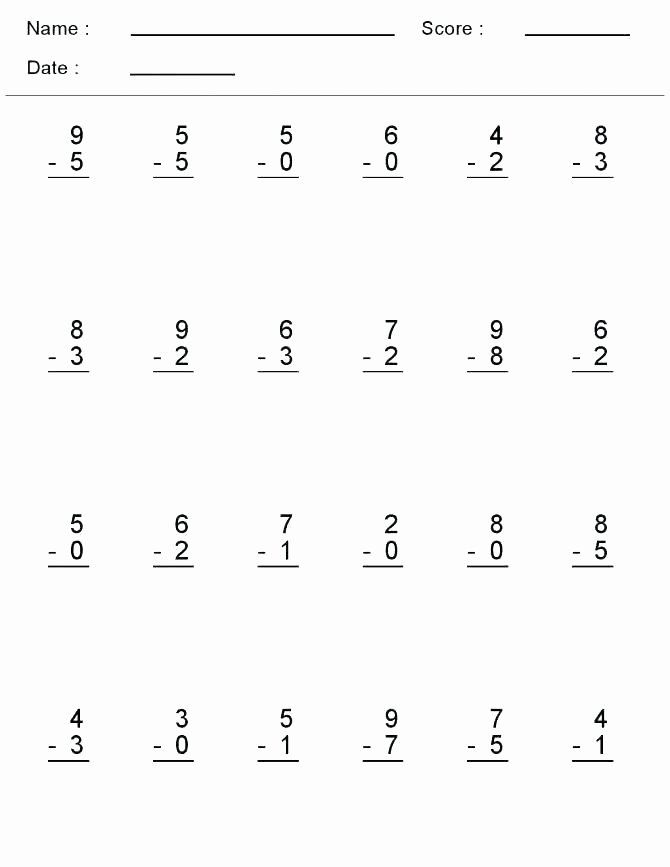 6 Digit Subtraction Worksheets Third Grade Addition and Subtraction Worksheets