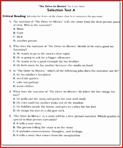 25 6th Grade istep Practice Worksheets   Softball ...
