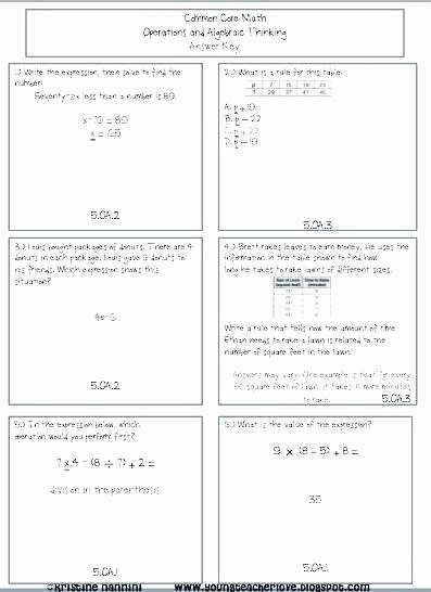 6th Grade istep Practice Worksheets Practice 5th Grade Math Worksheets