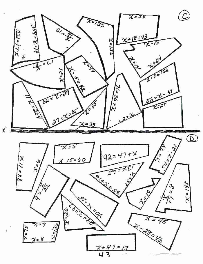 6th Grade Math Puzzle Worksheets Math Puzzle Worksheets