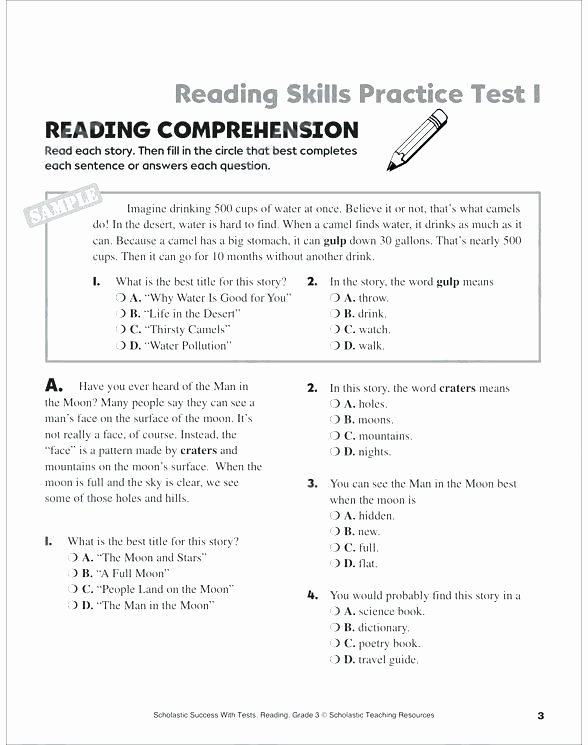 6th Grade Measurement Worksheets Free Printable 6th Grade Reading Worksheets