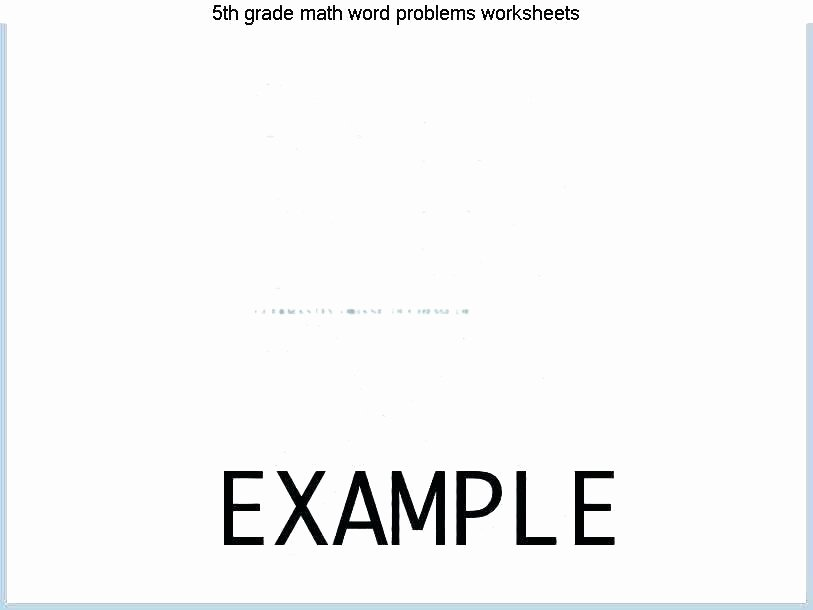 6th Grade Measurement Worksheets Measurement Word Problems Worksheets