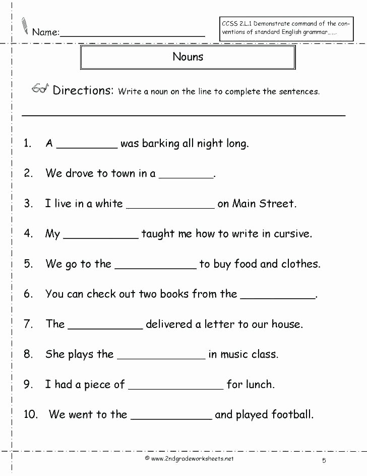 6th Grade Pronoun Worksheets Singular and Plural Worksheets Chic Collective Nouns What