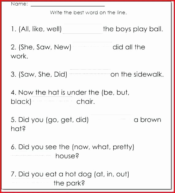 6th Grade Reading Worksheets Free Reading Worksheets for 6th Grade