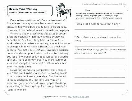 6th Grade Reading Worksheets Printable 6th Grade Reading Prehension Worksheets Pdf – 7th Grade