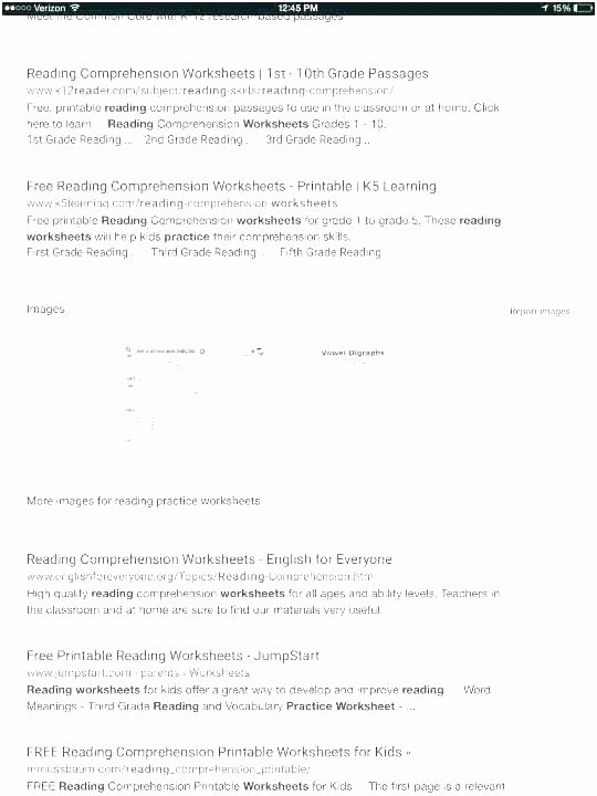 6th Grade Reading Worksheets Printable First Grade Reading Skills Worksheets