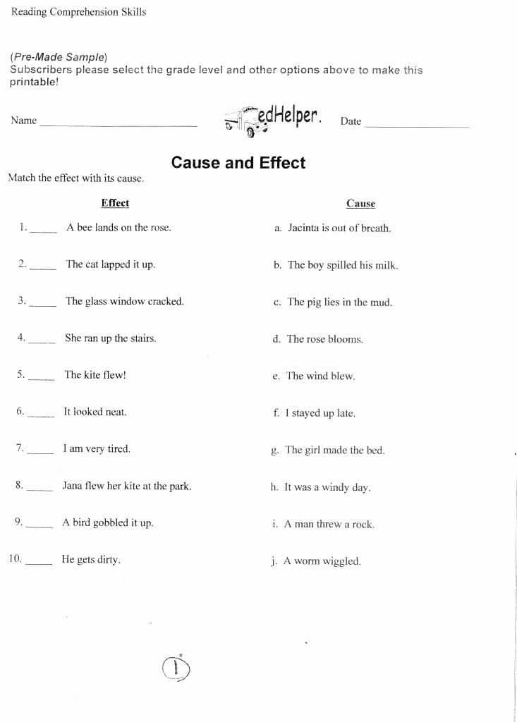 6th Grade Reading Worksheets Printable Free Printable Grade Reading Worksheets Grade Reading Free