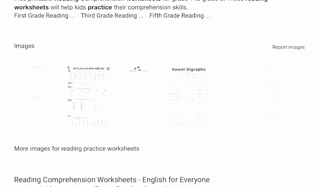 6th Grade Reading Worksheets Printable Free Printable Prehension Worksheets Grade 4 for Reading