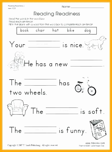 6th Grade Reading Worksheets Printable Second Grade Reading Worksheets