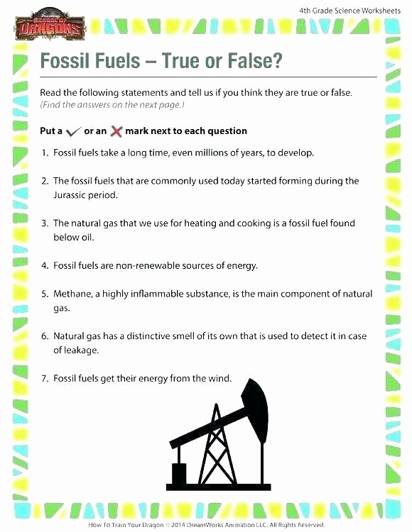 6th Grade Science Energy Worksheets 6th Science Worksheets