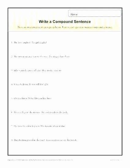 6th Grade Sentence Structure Worksheets Paragraph Structure Worksheets Grade 3