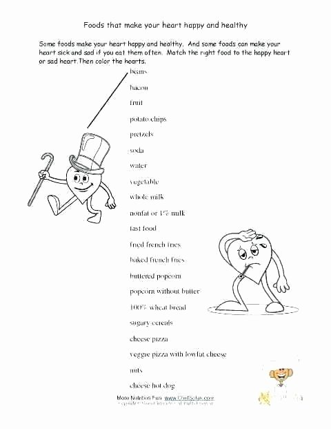 7 Habits for Kids Worksheets Beautiful 4th Grade Health Printable Worksheets