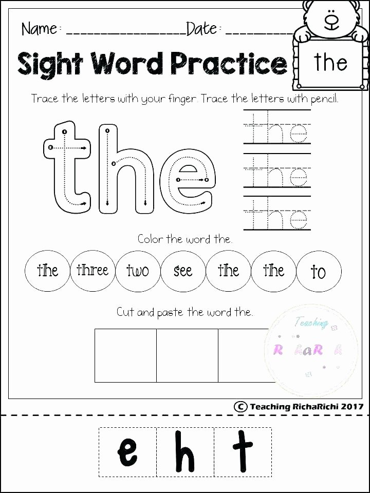 7 Habits for Kids Worksheets Elegant Kindergarten Reading and Writing Worksheets