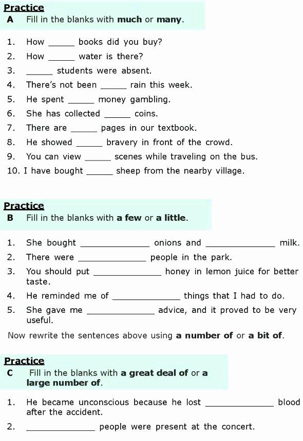 7th Grade Grammar Worksheets Pdf Grade Grammar Worksheets Printable Best Grade 6 Grammar