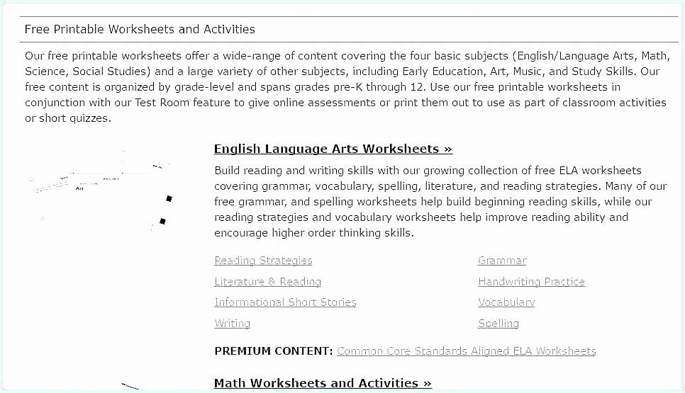 7th Grade Grammar Worksheets Pdf Seventh Grade Ela Worksheets Past Present and Future Grammar