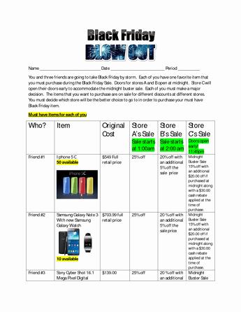 7th Grade Math Enrichment Worksheets Black Friday Blowout Summative assessment