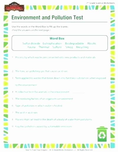 7th Grade Science Worksheets Pdf New 7th Grade Life Science Worksheets