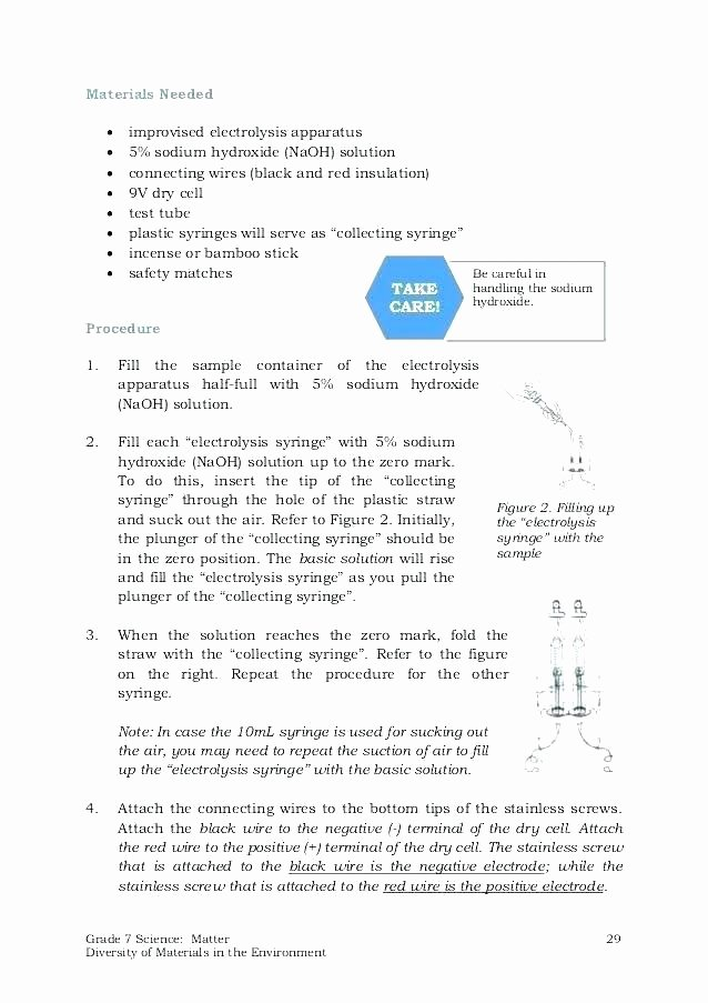 7th Grade Science Worksheets Printable Science Worksheets for Grade 7 Free