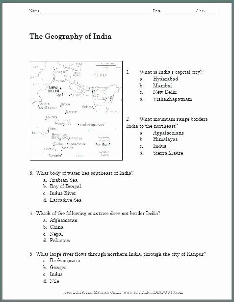 7th Grade social Studies Worksheets social Stu S Worksheets Grade Free 3 Printable 5th History