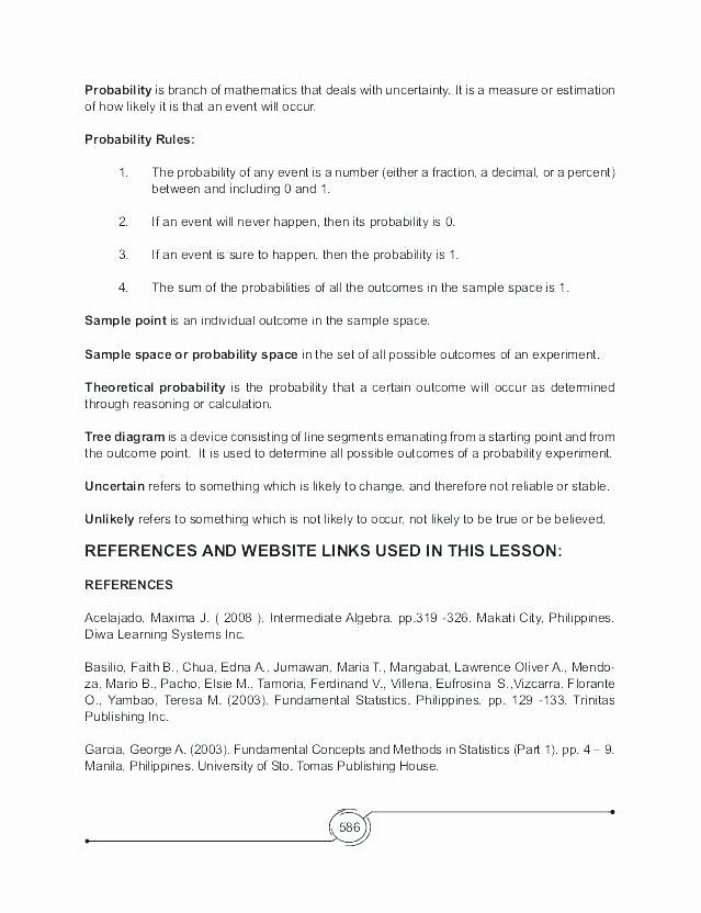7th Grade Statistics Worksheets Probability Statistics Worksheets