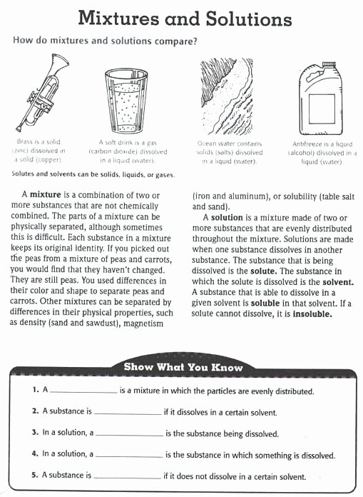 8th Grade Chemistry Worksheets Luxury solution Chemistry Worksheet Chemistry Baby Science 8th