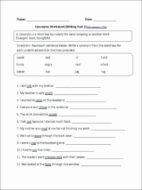 8th Grade English Worksheets Grade 7 English Worksheet 11