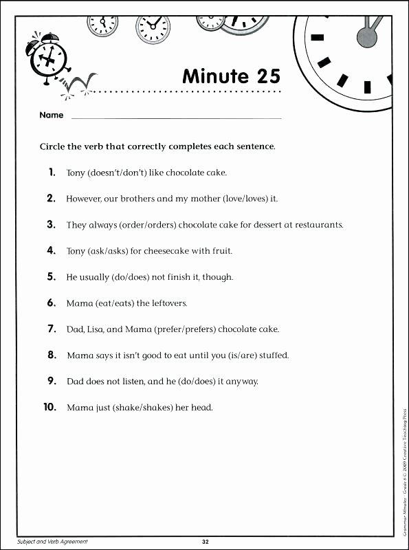 8th Grade English Worksheets Grammar Minutes Grade 6 Details Rainbow Free Sample Maths