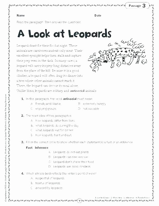 8th Grade Main Idea Worksheets Lovely Finding Supporting Details Worksheets Main Idea Worksheet