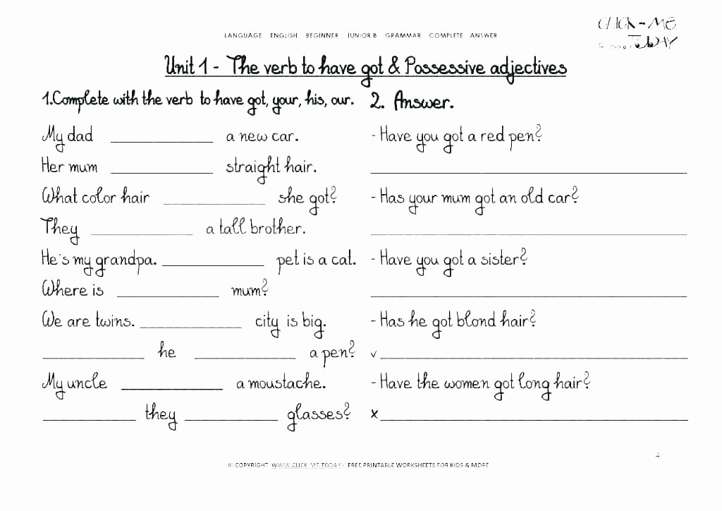 9th Grade Grammar Worksheets Luxury Free Printable 9th Grade Grammar Worksheets