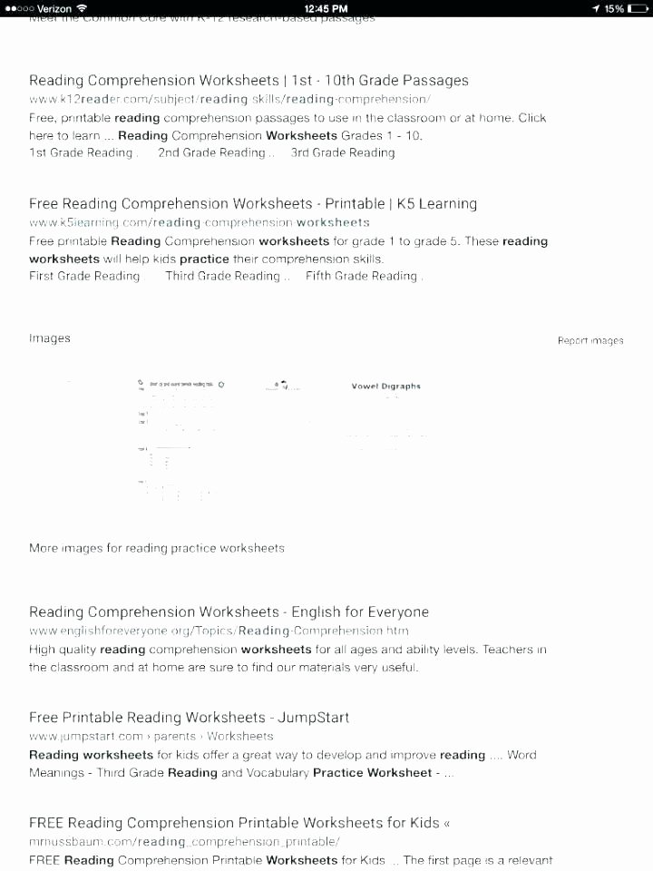 9th Grade Reading Comprehension Worksheet English Worksheets for Grade 5