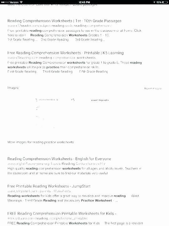 9th Grade Reading Worksheets New Grade Prehension Worksheets Math 1st Grade Literacy
