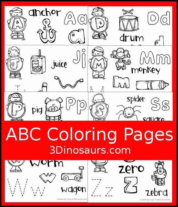 Abc Connect the Dots Printable Free Dot Marker Coloring Pages Unique Easy to Use Abc