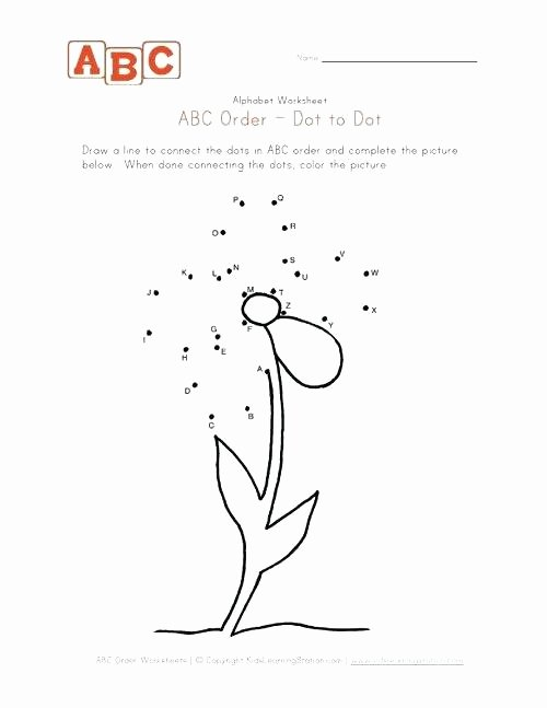 Abc Dot to Dot Printable Abc Dot to Dot Printables – Shadowwebfo