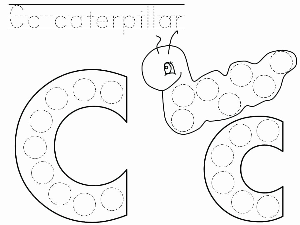 Abc Dot to Dot Printable Alphabet Dot to Worksheets for Kindergarten Letter Free Abc