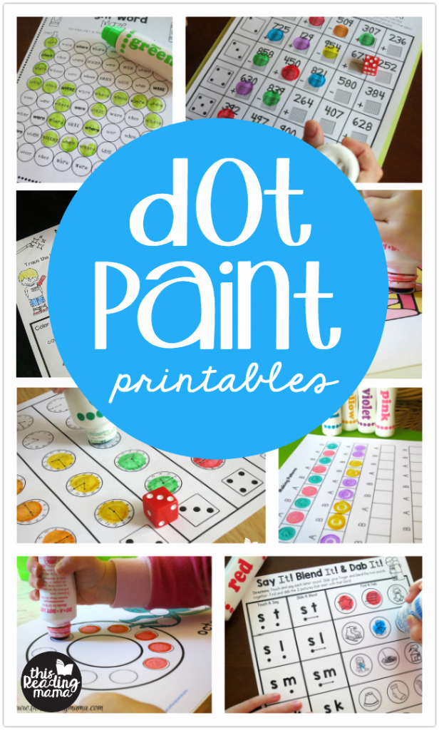 Abc Dot to Dot Printable Dot Paint Printables This Reading Mama
