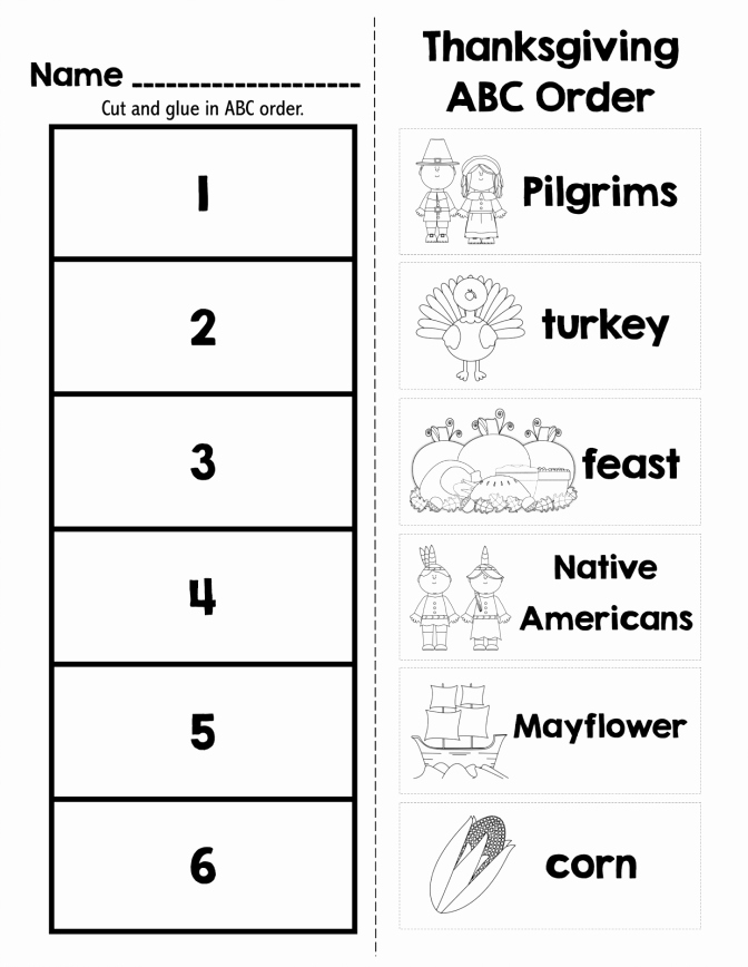 Abc order Worksheets Kindergarten Abc order with Cvc Words Best First Grade Teaching