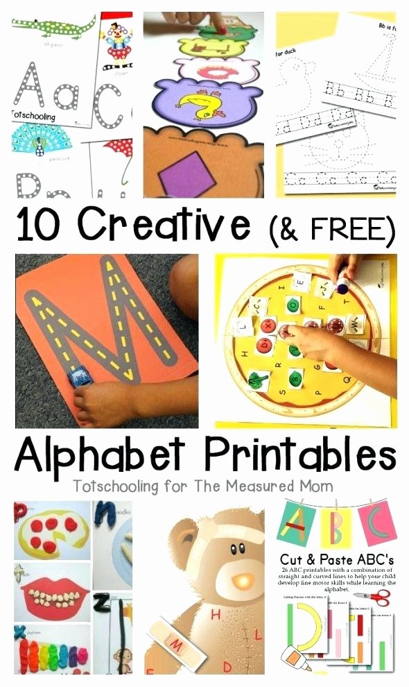 Abc order Worksheets Kindergarten Free Alphabet Worksheets for Kindergarten