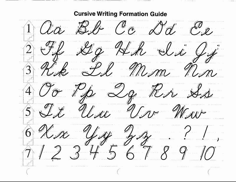 Abeka Cursive Alphabet Pin by Cursive Writing Cursive