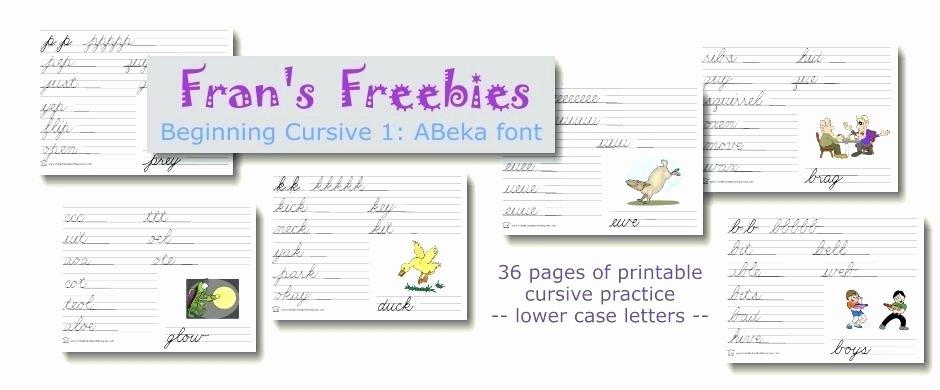 Abeka Cursive Writing Practice Sheets Mathematics Grade Worksheets Math for 1 Line Mathe