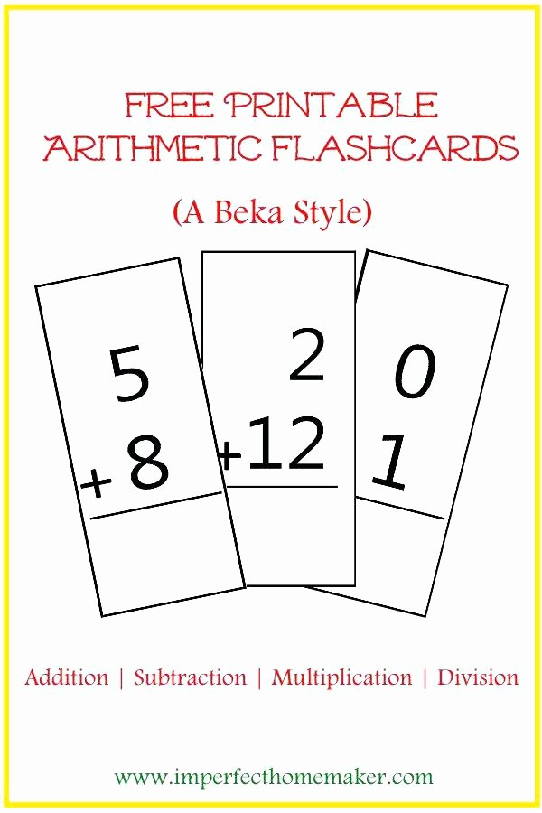 Abeka Handwriting Worksheets Abeka Math Worksheets Free Printable Math Flashcards
