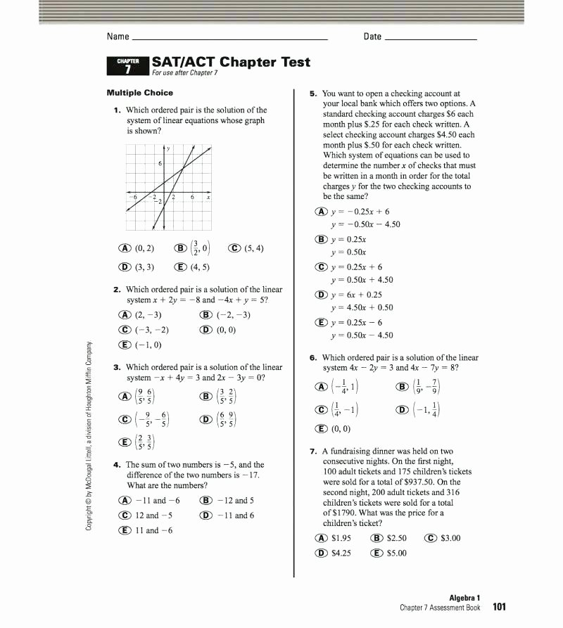 Act Prep Worksheets English New Act Practice Worksheets
