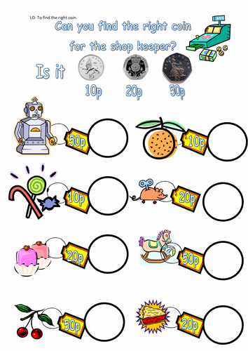 Adding and Subtracting Money Worksheets Money Worksheets