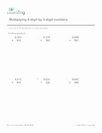 Adding Decimals Horizontal Worksheet 4 Digit Division Worksheets