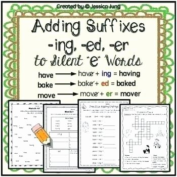 Adding Ing to Verbs Worksheet Verbs Worksheets Resource First Grade Word Ends Center S Ed