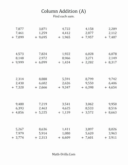 Adding Zero Worksheets Fresh Adding Zero Worksheet for Kids Maths Printing Number