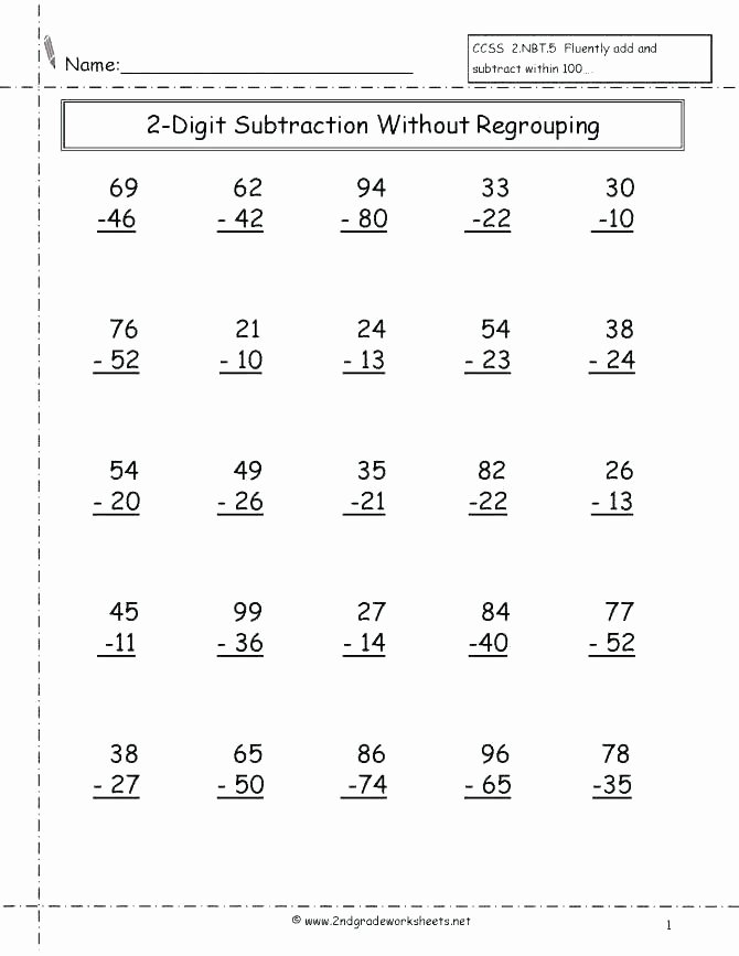 Addition 3 Digits Worksheets Subtraction Regrouping Worksheets Fun with for All 3 Digit