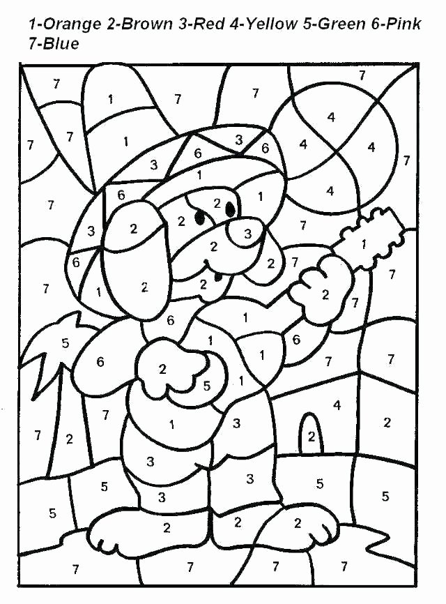 Addition Coloring Worksheets for Kindergarten Free Math Coloring Pages – Alexandermayo