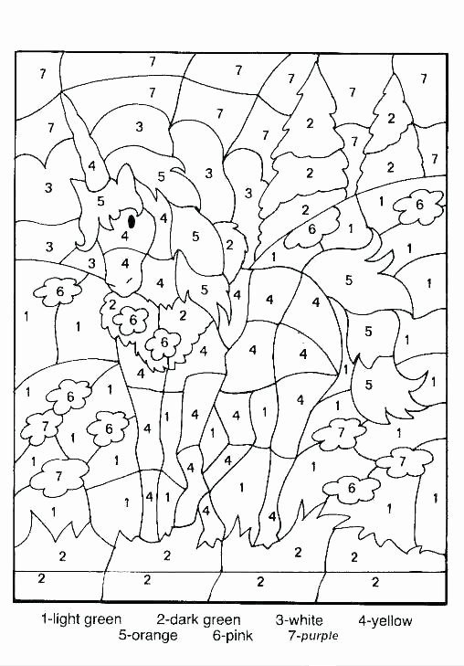 Addition Coloring Worksheets for Kindergarten Printable Math Coloring Pages – Lastgoodbye