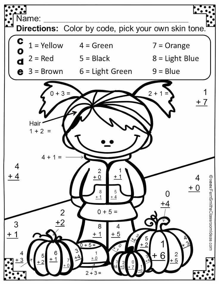 Addition Math Coloring Worksheets 2nd Grade Coloring Pages Grade Coloring Pages Basic Addition